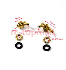 1 Set Oil Nozzle Gold Transparent Fuel Tank Parts Accessories for Gas airplane