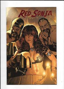 RED SONJA #7 ==> NM+ RED FOIL VIRGIN VARIANT ADAM HUGHES COVER