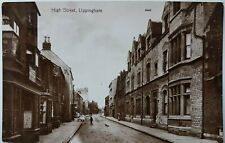 More details for high street, uppingham, rutland, valentine's xl series 40445. real photo.