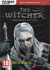 The Witcher Enhanced Edition PC & MAC Brand New Factory Sealed
