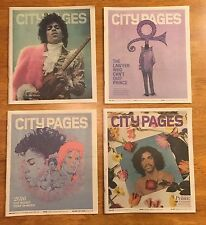 PRINCE Rogers Nelson MINNEAPOLIS MAGAZINE 2016/2017 LOT Death Issue NEWSPAPERS