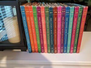 Golden Book Encyclopedia 1959 complete set