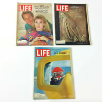 Life Magazine Issues From October 1968 Great Anniversary Birthday Gift Lot of 3