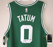 Jayson Tatum Autographed Boston Celtics Signed Nike NBA Swingman Jersey FANATICS