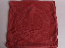 """New Pottery Barn Halima embroidered 20"""" pillow cover, pomegranate"""