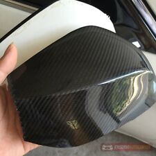 Real Carbon Fiber Mirror Cover Fit for Infiniti Q50 Q70 2014-2016 3M Tape on