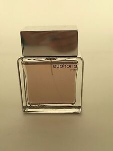 EUPHORIA FOR MEN BY CALVIN KLEIN Cologne 3.4 OZ, EDT NEW - UNBOXED.