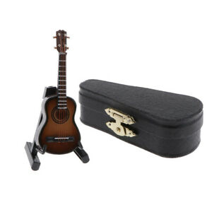 1:12 Scale Dollhouse Miniature Electric Guitar Model Doll House Decoration #1