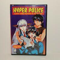 Hyper Police: Episodes 17-20 (DVD, 2003) Anime NEW