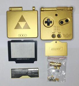 Kit Coque Ecran Nintendo Game Boy Advance SP Pokémon - Zelda - Or - GBA SP