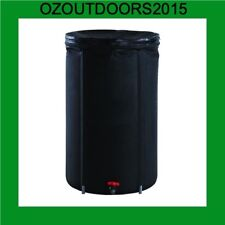 100 litre Collapsible water storage container barrel Portable Rain water