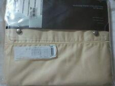 Hudson Park 600 TC Two Ply Yarn Egyptian Cotton TWIN Flat Sheet DANDELION A415