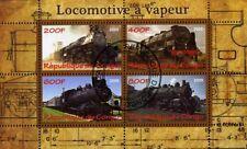 Kongo  Kleinbogen  1  Dampflokomotiven  EISENBAHN