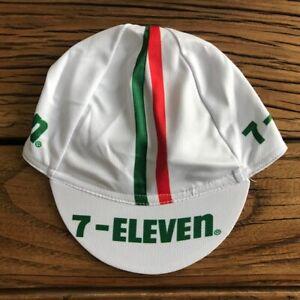 Men Cycling Cap Free size Replica Retro 7-Eleven USA Bike Jerseys Road Bicycle