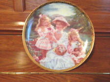 Reco Loving Touch By Sandra Kuck Mother's Day 1992 Plate #4577 Sk