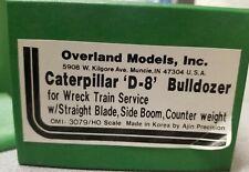 Overland Ajin HO 1:87 CAT D8 OMI 3079 Sideboom Wreck Dozer UNPAINTED BRASS