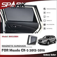 SP MAGNETIC CAR WINDOW SUN SHADE BLIND MESH FOR MAZDA CX-5 CX5 2012-2016