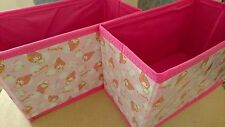 SANRIO My Melody Foldable Box storage box for car no cover DAISO JAPAN
