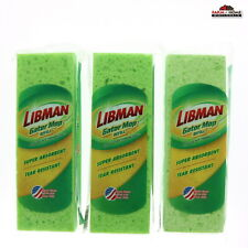 """Libman 3021 Gator Mop 9"""" Refill Head ~ 3 Pack"""