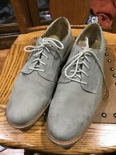 Cole Haan Grand OS Mens Sz 12M Tan Suede Oxford Shoes