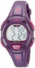 Timex Women's Ironman 30-Lap Digital Quartz Mid-Size Watch, Plum/Magenta - T5K75