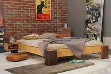 HANANNA  Bambusbett 140x200cm, 30cm oder 40cm Bett Höhe, metallfrei NEU!