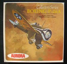 AURORA 1115-260 - BOEING P-26A + Display Base - 1:48 -Modellbausatz Model Kit 26