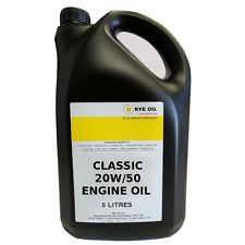 20w/50 Classic 20w50 Vintage High Zinc Engine Oil 5 Litre 5L
