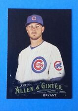 2016 Allen & Ginter Black X . KRIS BRYANT . CHICAGO CUBS . SUPER STAR   . #112