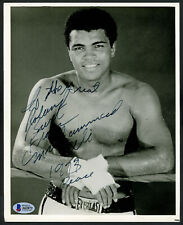 """Muhammad Ali Autographed Signed 8x10 Photo """"1973, Peace"""" Vintage Beckett A62872"""