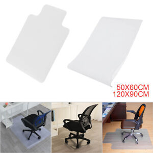Home Aid Office Chair Desk Mat Safety Non SlipFloor Carpet Protector Plastic