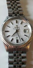 Titoni Cosmo King 37mm vintage Swiss automatic watch w/ ETA 2824-1, date window