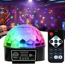 Disco Lichteffekt LED RGB Discokugel DJ Automatisch Party Bar Fernbedienung DHL