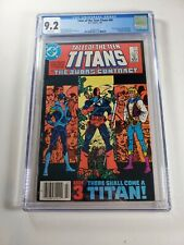Tales of the Teen Titans #44 newsstand! CGC 9.2 WHITE pages 1st Nightwing!