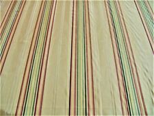 Elegant High Quality Striped Moire Fabric By The Yard ~ Curtains Drapes Pillows