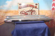 """MUFFLERS Chrome Exhaust  """"Genuine"""" INDIAN Take-Off Fits Chief Chieftain 2015 X1"""