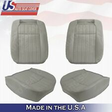 Driver Passenger Leather Perforated Seat Cover For 1994 - 1996 Chevy Impala SS
