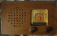 """Vintage Motorola FM Table Radio Circa 1940s, everything included, sold """"as is"""""""
