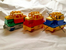 Lego Duplo Eisenbahn elektrische Lok rot grün blau Rangier Zug Batteriebetrieben