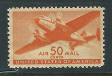Bigjake: C31, 50 cent Twin Motor Transport Plane, MNH