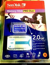 """SanDisk Memory Stick Duo adapter ( Msac-M2 ) for Pro Duo """"New�"""