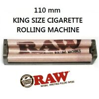New RAW 110mm Cigarette Roller Rolling Machine Hemp Plastic King Size Papers