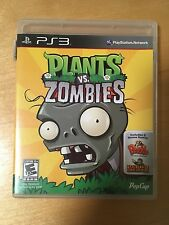 Plants vs. Zombies (Sony PlayStation 3, 2011) Complete