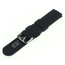 18mm Nylon Sport Wrist Watch Band Strap For Watch Stainless Steel Buckle X