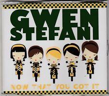 Gwen Stefani (No Doubt)-Now That You Got It**Rare 2007 New Zealand CD Single**