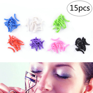 x15 Eyelash Curler Refill Rubber Pads Make Up Tool Replacement Circle Cosmetic