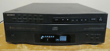 Sony Compact 5 Disc Multi Player Changer CD Carousel Model CDP-C322M No Remote