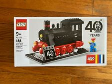 LEGO 40th Anniversary 40370 Exclusive Train Steam Engine NEW