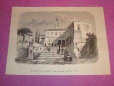 Roma Convento di Sant' Onofrio vi morì Torquato Tasso