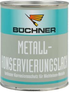 Büchner Metall-Konservierungslack 750 ml Farblos, glänzend für alle NE-Metalle